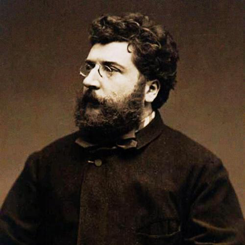 Georges Bizet, Duet from The Pearl Fishers, Easy Piano