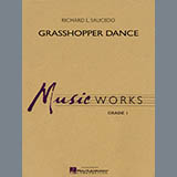 Download Richard L. Saucedo 'Grasshopper Dance - Bb Clarinet 1' printable sheet music notes, Concert chords, tabs PDF and learn this Concert Band song in minutes