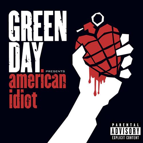 Green Day, American Idiot, Lyrics & Chords
