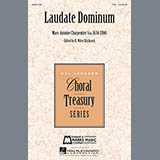 Download Marc-Antoine Charpentier Laudate Dominum sheet music and printable PDF music notes