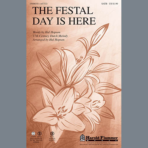 Hal H. Hopson, The Festal Day Is Here, Percussion