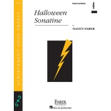 Download Nancy Faber 'Halloween Sonatine' printable sheet music notes, Children chords, tabs PDF and learn this Piano Adventures song in minutes