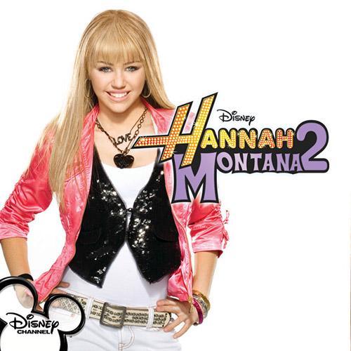 Hannah Montana, Old Blue Jeans, Piano (Big Notes)