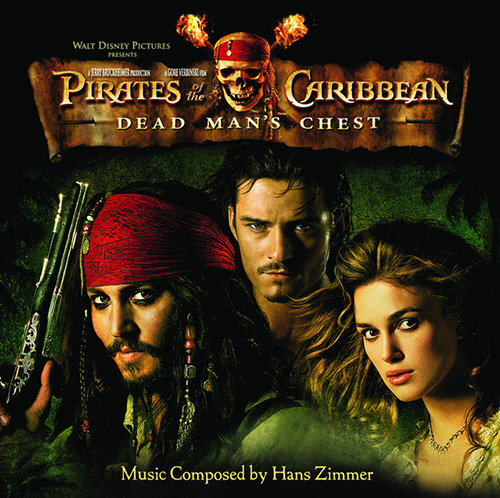 Hans Zimmer, Davy Jones (from Pirates Of The Caribbean: Dead Man's Chest), Easy Guitar Tab