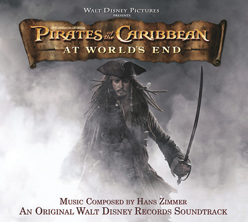 Hans Zimmer, Up Is Down (from Pirates Of The Caribbean: At World's End), Easy Guitar Tab