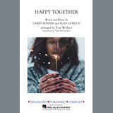 Download Tom Wallace 'Happy Together - Trombone 1' printable sheet music notes, Oldies chords, tabs PDF and learn this Marching Band song in minutes