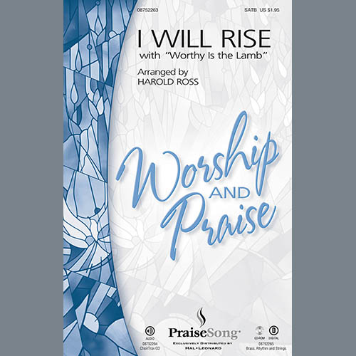 I Will Rise (with Worthy Is The Lamb) - Tenor Sax (sub. Tbn 2) sheet music