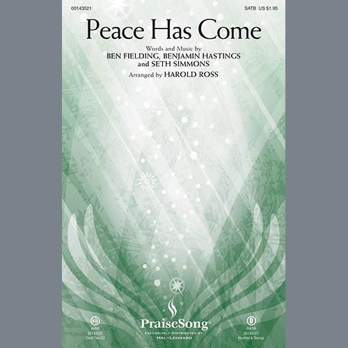 Harold Ross, Peace Has Come - Rhythm, Choir Instrumental Pak