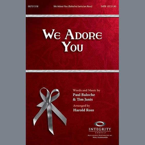 We Adore You - Violin 1 sheet music