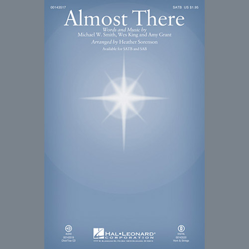 Heather Sorenson, Almost There - Keyboard String Reduction, Choir Instrumental Pak