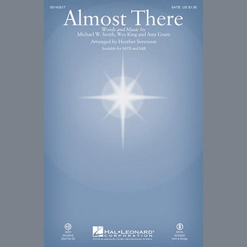 Heather Sorenson, Almost There - Violin 1, Choir Instrumental Pak