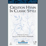 Download Heather Sorenson Creation Hymn In Classic Style - Bb Clarinet 1,2 sheet music and printable PDF music notes