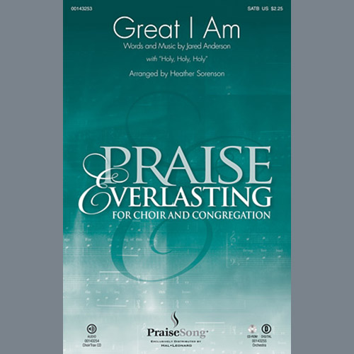 Heather Sorenson, Great I Am - Keyboard String Reduction, Choir Instrumental Pak