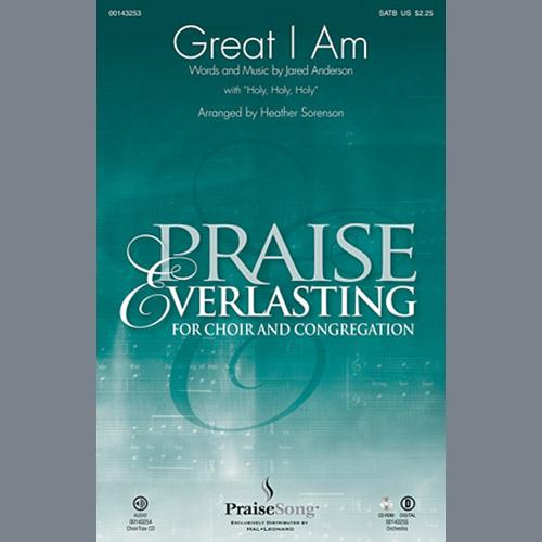 Heather Sorenson, Great I Am - Violin 2, Choir Instrumental Pak