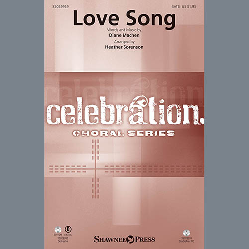 Heather Sorenson, Love Song - Cello, Choir Instrumental Pak