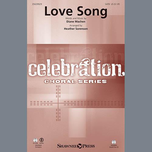 Heather Sorenson, Love Song - Violin 1, Choir Instrumental Pak