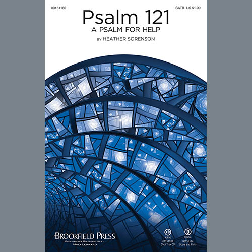 Heather Sorenson, Psalm 121 (A Psalm For Help) - Violin 2, Choir Instrumental Pak