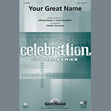 Download Heather Sorenson Your Great Name - Violin 2 sheet music and printable PDF music notes
