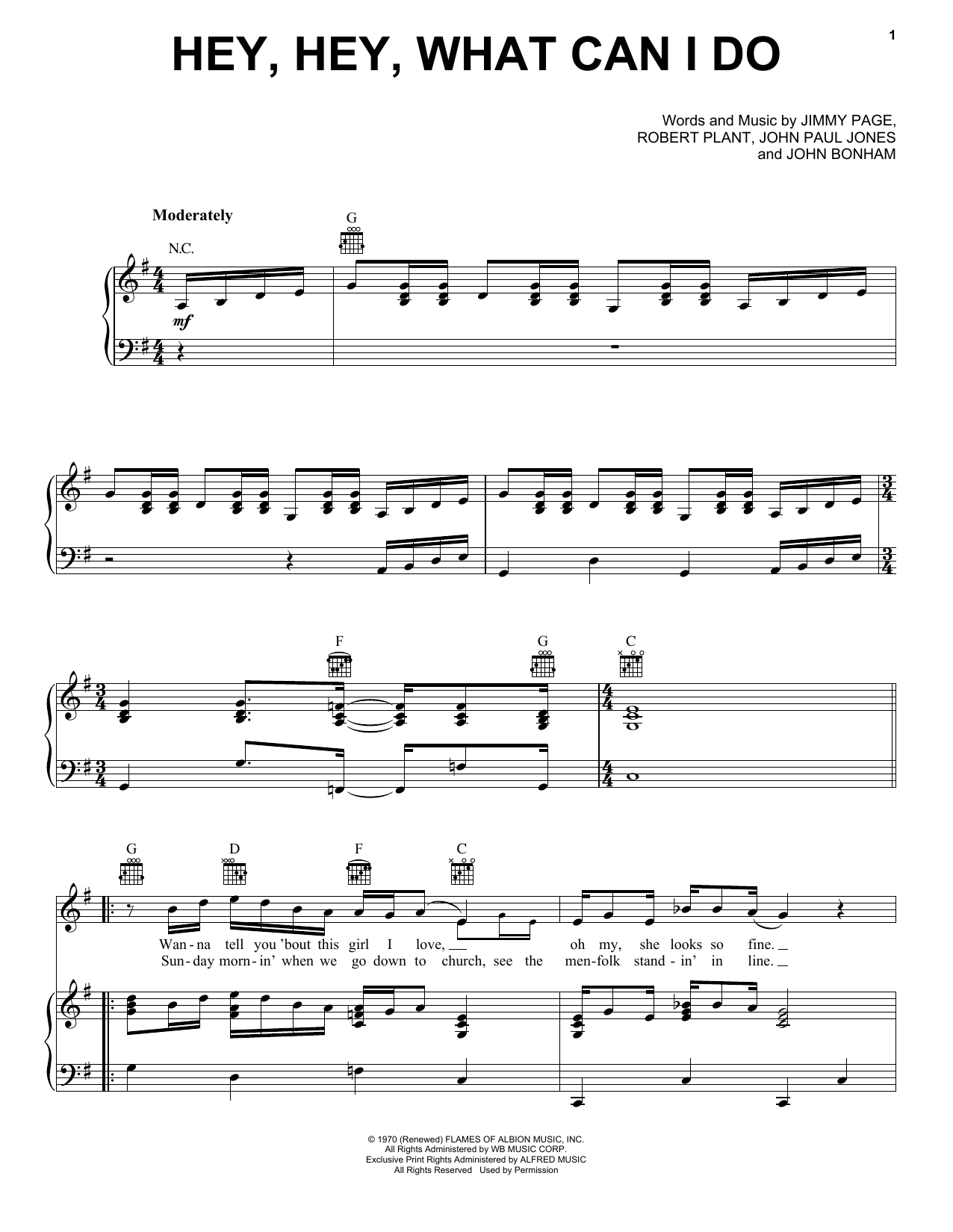 Hootie & The Blowfish 'Hey, Hey, What Can I Do' Sheet Music Notes, Chords    Download Printable Piano, Vocal & Guitar Right Hand Melody   SKU 15