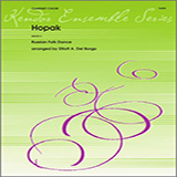 Download Elliot A. Del Borgo 'Hopak - 3rd Bb Clarinet' printable sheet music notes, Classical chords, tabs PDF and learn this Woodwind Ensemble song in minutes