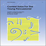 Download Houllif 'Contest Solos For The Young Percussionist' printable sheet music notes, Unclassified chords, tabs PDF and learn this Percussion song in minutes