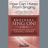 Download Anna Bartlett Warner and Robert Wadsworth Lowry 'How Can I Keep From Singing (arr. Reginal Wright)' printable sheet music notes, Concert chords, tabs PDF and learn this TBB Choir song in minutes