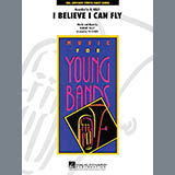 Download Tim Waters 'I Believe I Can Fly - Percussion 1' printable sheet music notes, Film/TV chords, tabs PDF and learn this Concert Band song in minutes