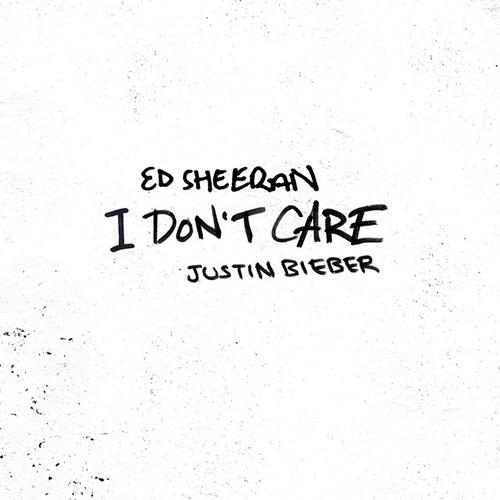 Ed Sheeran & Justin Bieber, I Don't Care, Very Easy Piano