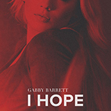Download Gabby Barrett I Hope sheet music and printable PDF music notes