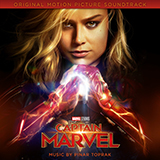 Download Pinar Toprak 'I'm All Fired Up (from Captain Marvel)' printable sheet music notes, Film/TV chords, tabs PDF and learn this Piano Solo song in minutes