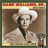 Download Hank Williams 'I'm So Lonesome I Could Cry' printable sheet music notes, Country chords, tabs PDF and learn this Piano song in minutes