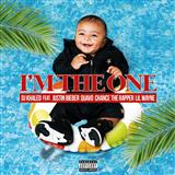 Download DJ Khaled 'I'm The One (feat. Justin Bieber, Quavo, Chance The Rapper & Lil Wayne)' printable sheet music notes, Pop chords, tabs PDF and learn this Easy Piano song in minutes