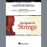 Download Larry Moore 'I Wan'na Be Like You (from The Jungle Book) - Violin 1' printable sheet music notes, Children chords, tabs PDF and learn this Orchestra song in minutes