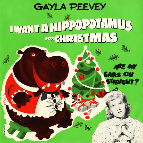 Gayla Peevey, I Want A Hippopotamus For Christmas (Hippo The Hero), Cello Solo