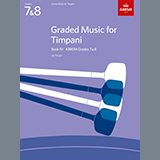 Download Ian Wright Study No.8 from Graded Music for Timpani, Book IV sheet music and printable PDF music notes