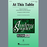 Download Idina Menzel At This Table (arr. Audrey Snyder) sheet music and printable PDF music notes