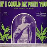 Download Jimmy Johnson 'If I Could Be With You (One Hour Tonight)' printable sheet music notes, Standards chords, tabs PDF and learn this Easy Piano song in minutes