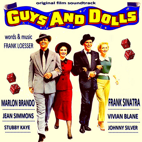 Frank Loesser, If I Were A Bell (from Guys And Dolls), Easy Guitar Tab