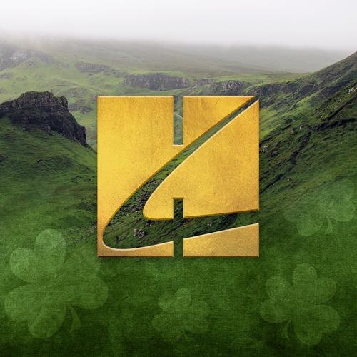Irish Folksong, Dear Little Shamrock, Piano, Vocal & Guitar (Right-Hand Melody)