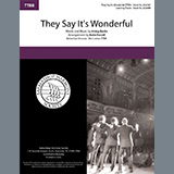 Download Irving Berlin They Say It's Wonderful (from Annie Get Your Gun) (arr. Katie Farrell) sheet music and printable PDF music notes