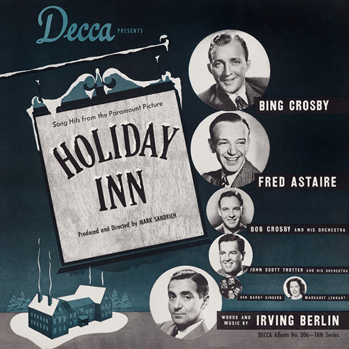 Irving Berlin, White Christmas, Piano, Vocal & Guitar (Right-Hand Melody)