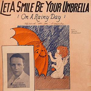 Irving Kahal, Let A Smile Be Your Umbrella, Piano, Vocal & Guitar (Right-Hand Melody)