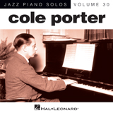Download Cole Porter 'It's De-Lovely [Jazz version] (arr. Brent Edstrom)' printable sheet music notes, Jazz chords, tabs PDF and learn this Piano song in minutes