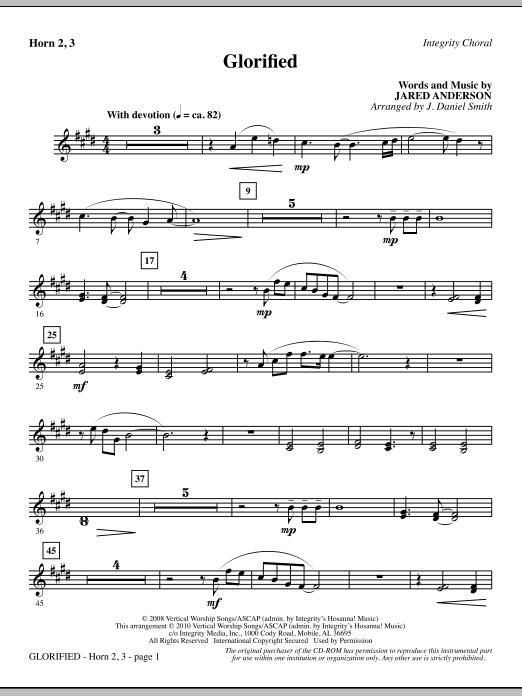 Glorified - F Horn 2,3 sheet music