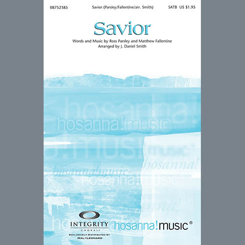 Savior - Bass Clarinet (sub. dbl bass) sheet music
