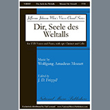 Download J.D. Frizzell Dir, Seele Des Weltalls sheet music and printable PDF music notes