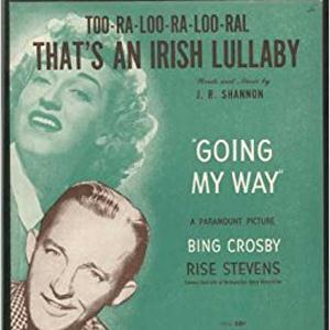James R. Shannon, Too-Ra-Loo-Ra-Loo-Ral (That's An Irish Lullaby), Easy Piano