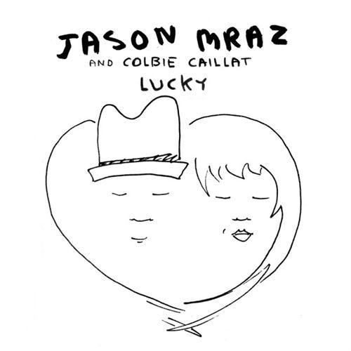 Jason Mraz & Colbie Caillat, Lucky, Easy Guitar Tab