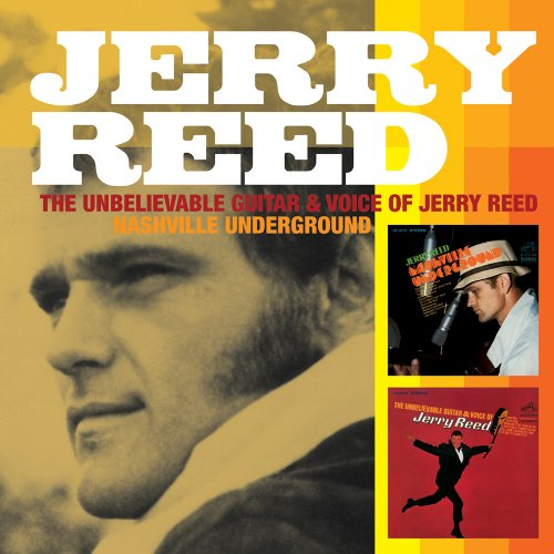 Jerry Reed, Guitar Man, Piano, Vocal & Guitar (Right-Hand Melody)