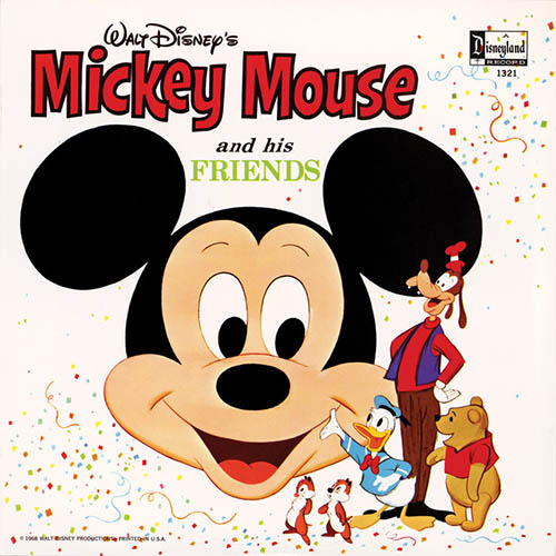 Jimmie Dodd, Mickey Mouse March, Piano (Big Notes)